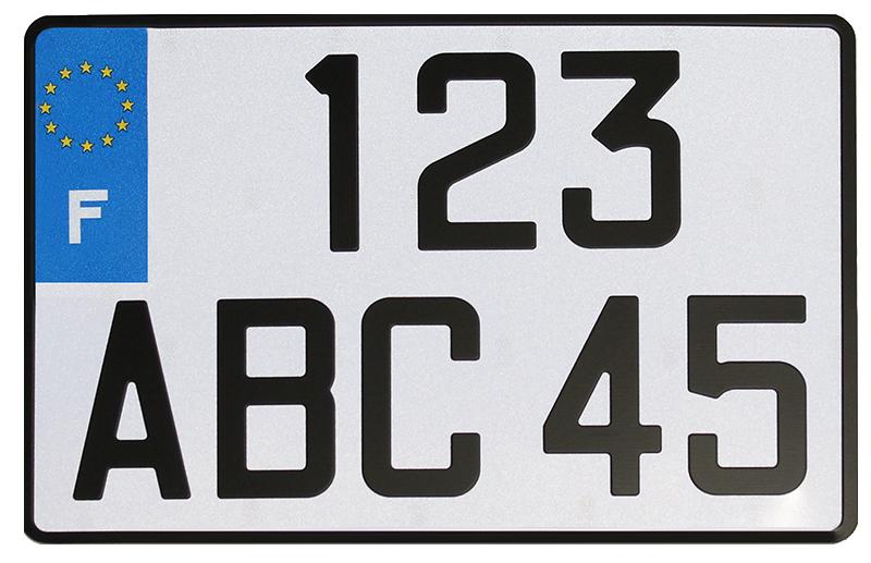 Plaque 4x4 alu 300x200