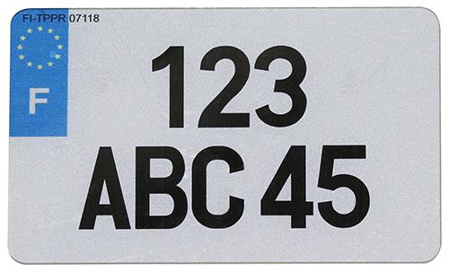 Plaque 4x4 pvc 275x200