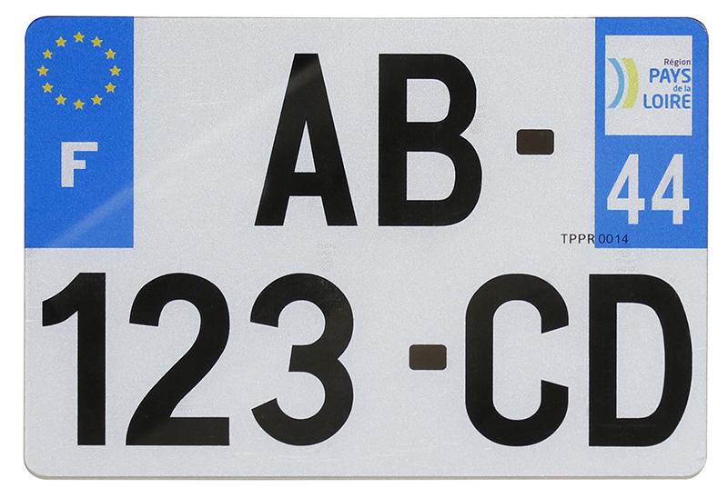 Plaque utilitaire pvc 275x200