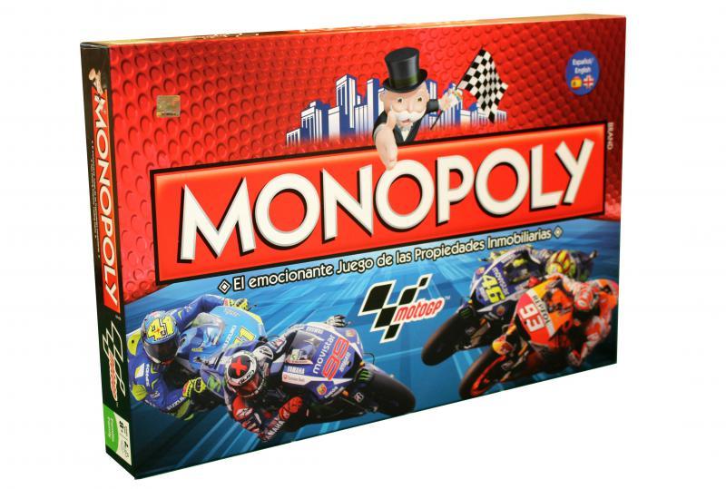 Boîte de jeu Monopoly GP Moto